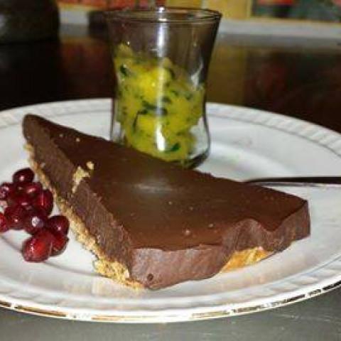 De fameuze chocoladetaart